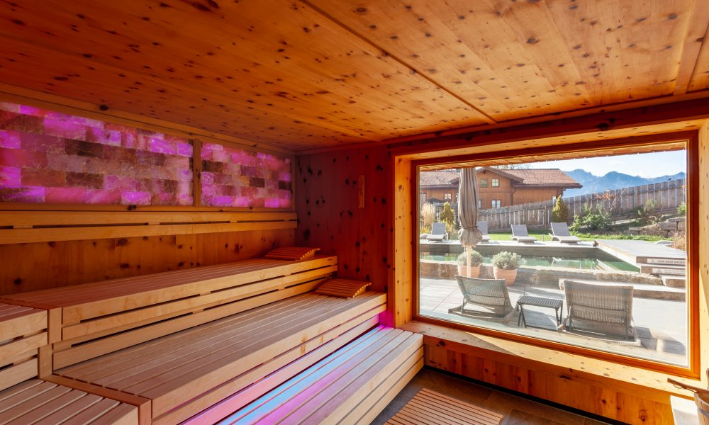Zirben-Salz-Sauna|Biohotel Eggensberger/Moving Pictures