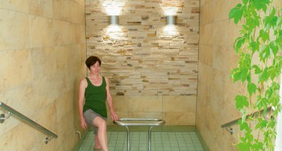 Wellness: Kneipp-Tretbecken