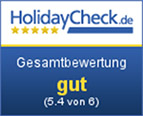 Holidaycheck Rating